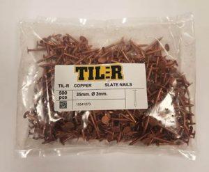 TIL-R Copper Slate nails for web