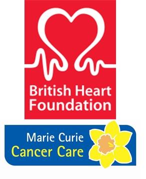 BHF & MC logos