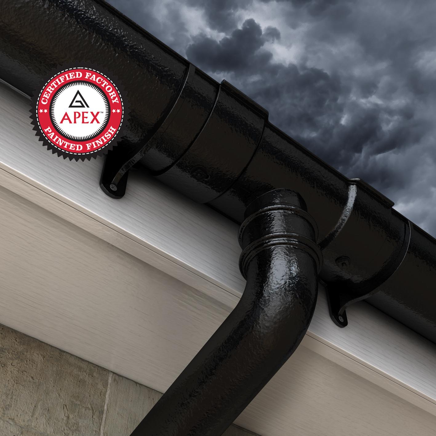 Alumasc Rainwater S Apex Certified Painted Cast Iron